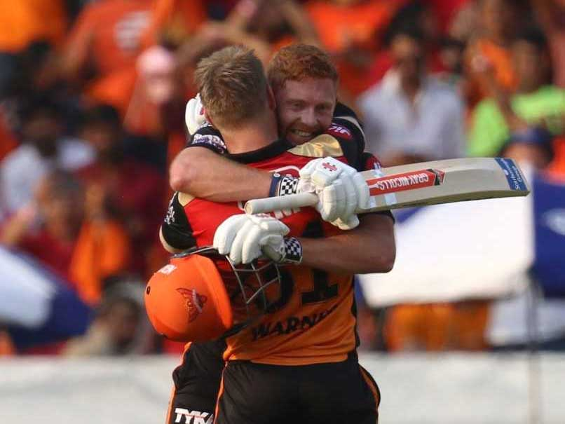 IPL 2019: SRH Ride David Warner-Jonny Bairstow Blitz To Demolish RCB