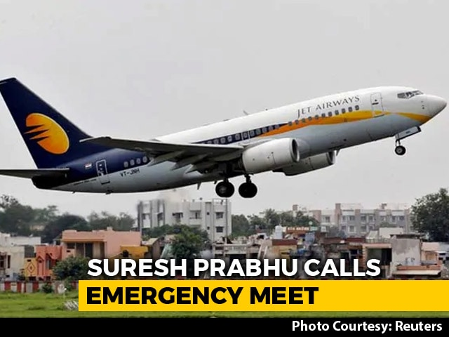 Video : Government Calls Emergency Meet As Jet Grounds More Flights
