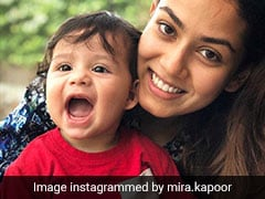 This Pic Of Mira Rajput With 'Small Wonder' Zain Is All You Need To See Today