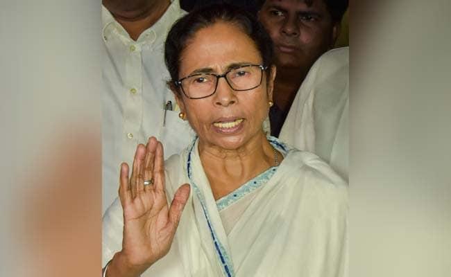 Mamata Banerjee Behaving Like 'Anti-National', Says Bengal BJP
