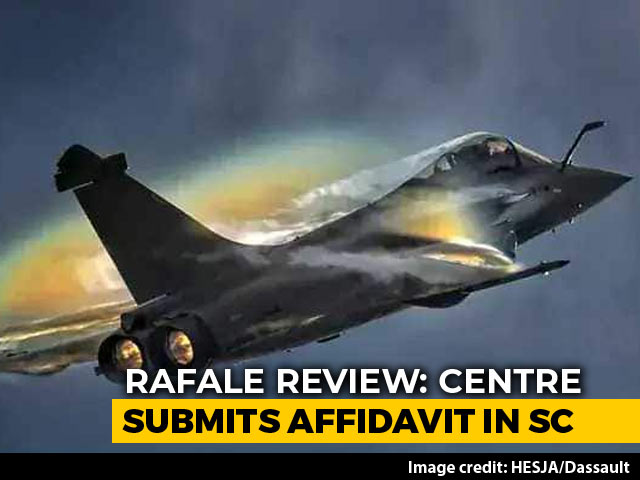Video : Secret Rafale Papers Available To Enemy, Security Risk: Centre To Court