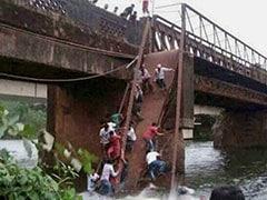 4 Injured As Goa Bridge Scaffolding Collapses