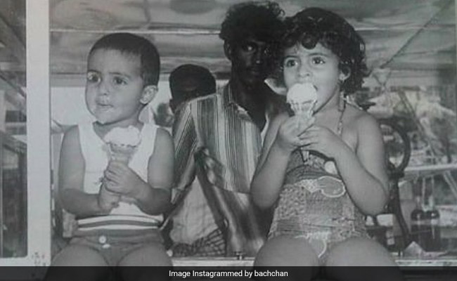 'You Owe Me An Ice Cream': Shweta Reminds Abhishek Bachchan On Her Birthday