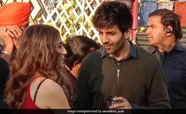 'Was That Really Sara Ali Khan And Me?': Kartik Aaryan On Leaked Kiss Video