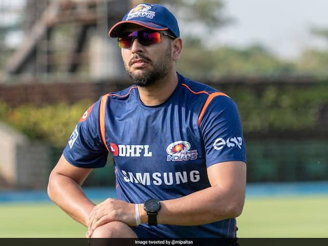 Yuvraj Singh Trolls Himself For Slow Pace During Mumbai Indians Net Practice