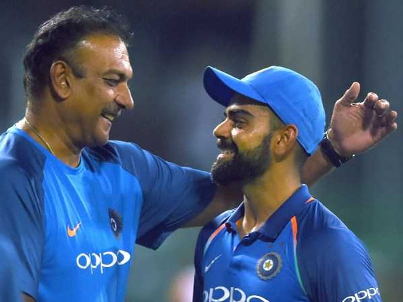 "Virat Kohli, Ravi Shastri Felt ""Good"" When India Were 99/4 In First ODI. Here"