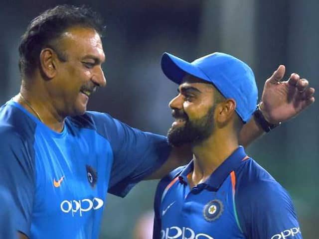 "Virat Kohli, Ravi Shastri Felt ""Good"" When India Were 99/4 In First ODI. Heres Why"