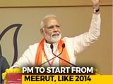 Video : PM Modi's Election Campaign Hits Three States On Thursday