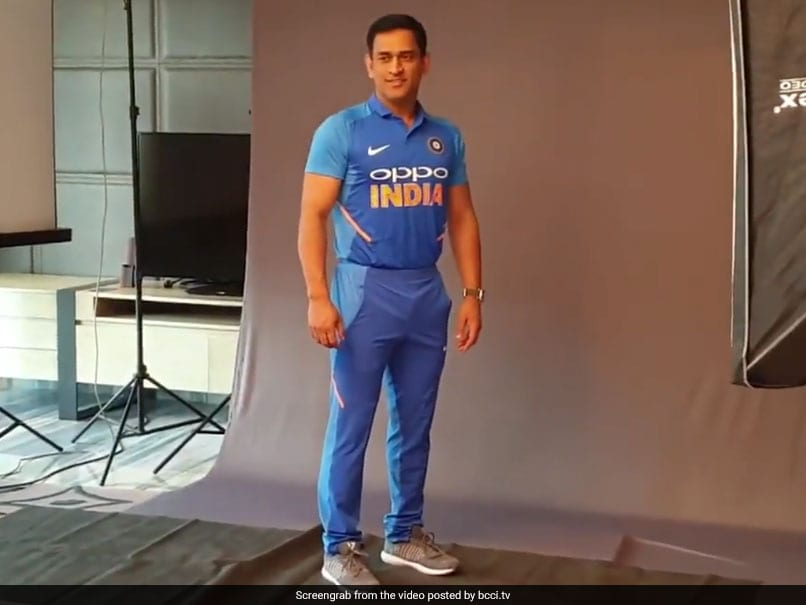 50c45d34fc3 Team India New Jersey Launched Ahead Of Australia ODI Series