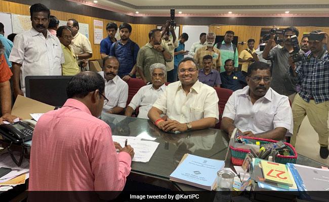 Congress Gives Karti Chidambaram Second Chance From Sivaganga