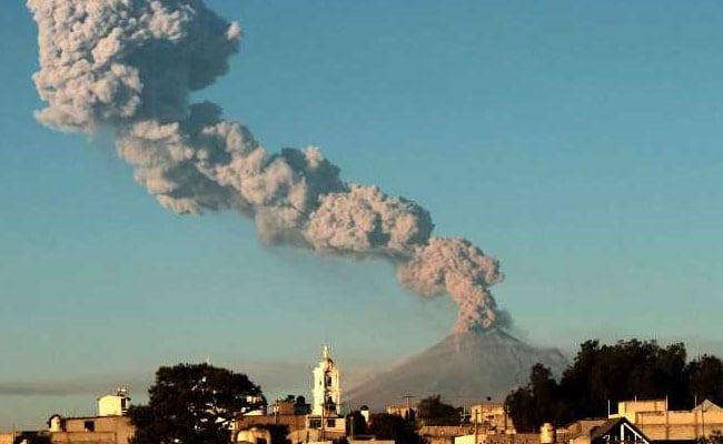 Mexico Raises Alert Level As Popocatepetl Volcano Spews Ash, Lava