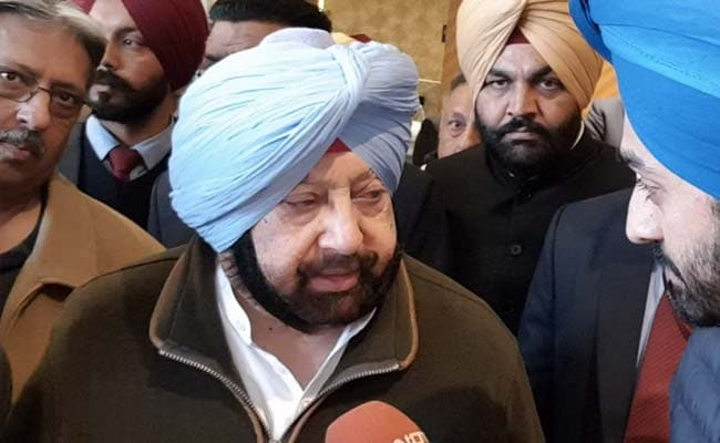PM Modi's Remark On Rajiv Gandhi Despicable: Captain Amarinder Singh