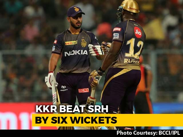Video : IPL 2019: Andre Russell Powers KKR To Winning Start Against SRH