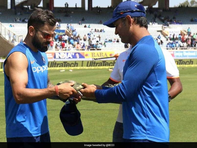 Watch: Team India Wear Army Caps To Honour Soldiers Killed In Pulwama, Donate Match Fees To National Defence Fund
