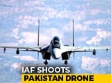 Video : Pak Spy Drone Shot Down By Sukhoi-30 In Rajasthan's Bikaner: Sources