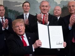 Trump Signs US Recognition Of Israeli Sovereignty Over Golan Heights