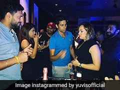 Yuvraj Singh Complains About Ashish Nehra's Mischief On Wife Hazel Keech's Birthday. See Pictures