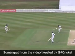Batsman Forgets He Has A Runner, Chaos Ends In Bizarre Run Out - Watch