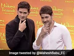 Mahesh Babu Unveils Wax Statue For Madame Tussauds Singapore. See Pics