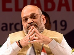 BJP Credits Amit Shah For LK Advani Success As Congress Questions Absence