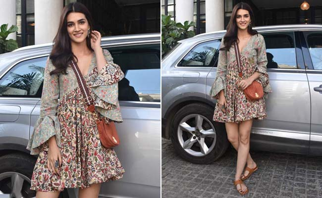 Channel Spring Like Kriti Sanon In These 5 Floral Dresses