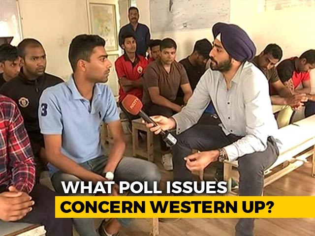 Video : Lok Sabha Polls 2019: What Young Voters In Western UP Want