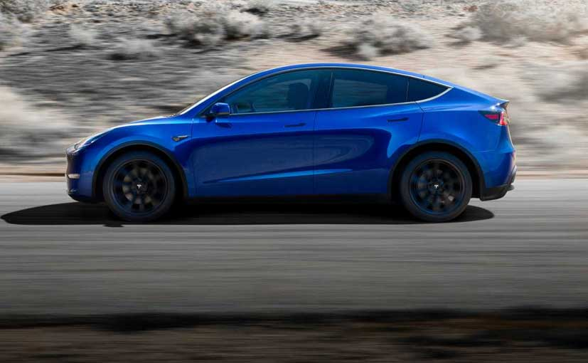 Tesla Model Y Electric SUV Revealed