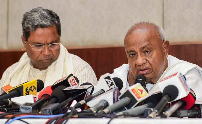 'Didn't Quit JDS, Was Expelled By HD Deve Gowda,' Says Siddaramaiah