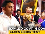 Video : Goa BJP Lawmakers Moved To 5-Star Resort Ahead Of Floor Test Today