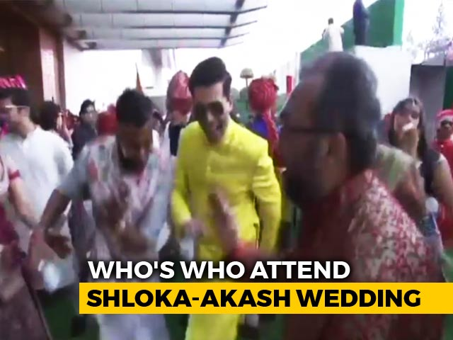 Watch: Bollywood Dances At Akash Ambani-Shloka Mehta Wedding