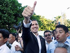 Juan Guaido Risks Arrest As He Returns To Challenge Venezuelan President