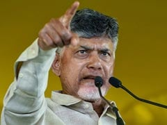 "Chandrababu Naidu Protests Against Poll Panel's ""Undemocratic"" Actions"