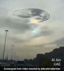 Huge 'Whirlpool Hole' In The Sky Over UAE Mystifies Viewers