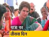 Video : PM के गढ़ में प्रियंका की बोट यात्रा