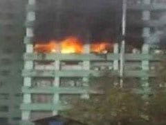 Security Personnel Dies In Fire At Government Building In Central Delhi
