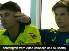 Marcus Stoinis And Adam Zampa's PDA Is Breaking The Internet - Watch