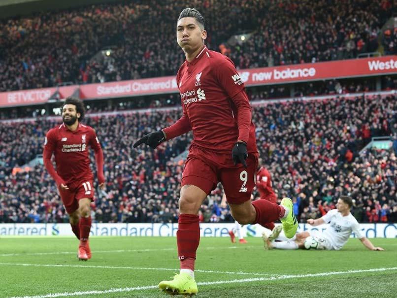 PL: Firmino, Mane Keep Liverpool In Touch With Manchester City