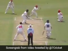 Sheffield Shield: Will Pucovski's Unlucky Dismissal On 82 - Watch