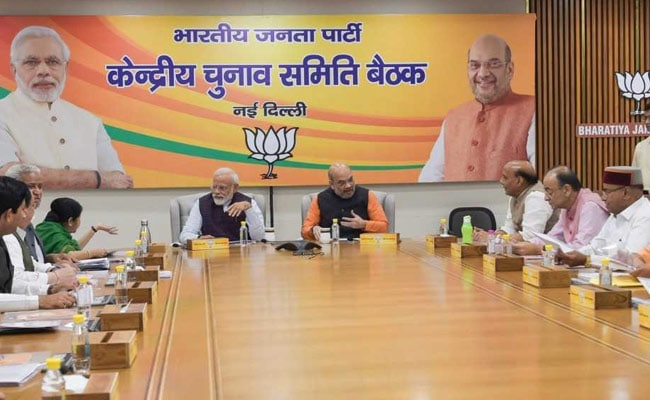 BJP Gives Lok Sabha Tickets To 2 Ex-Congress Leaders In Karnataka