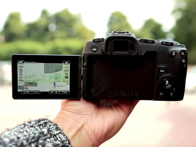 Video Canon Eos Rp Budget Full Frame Mirrorless Camera