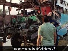 8 Dead, 30 Injured As Bus Rams Truck On Expressway Near Delhi