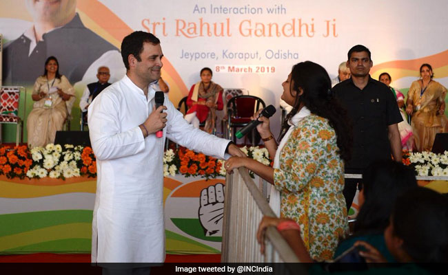 'When We Form Government...': Congress Has A Pledge For Women's Day