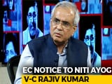 Video : NITI Aayog Official Gets Poll Body Notice For Remarks On Congress Poll Promise