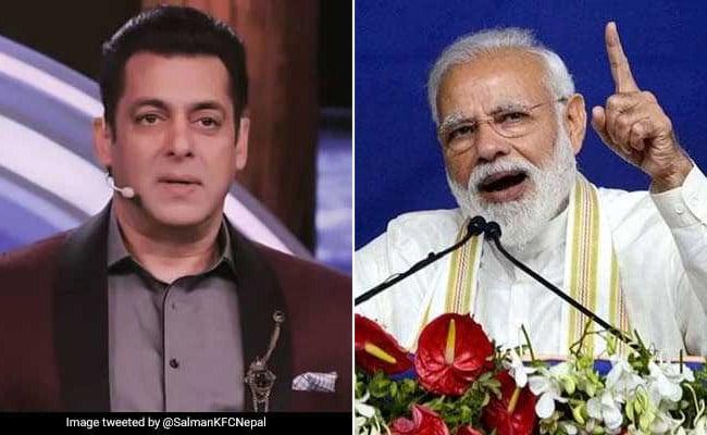 PM नरेंद्र मोदी ने सलमान खान को Tweet में किया टैग तो भाईजान ने यूं दे डाला जवाब