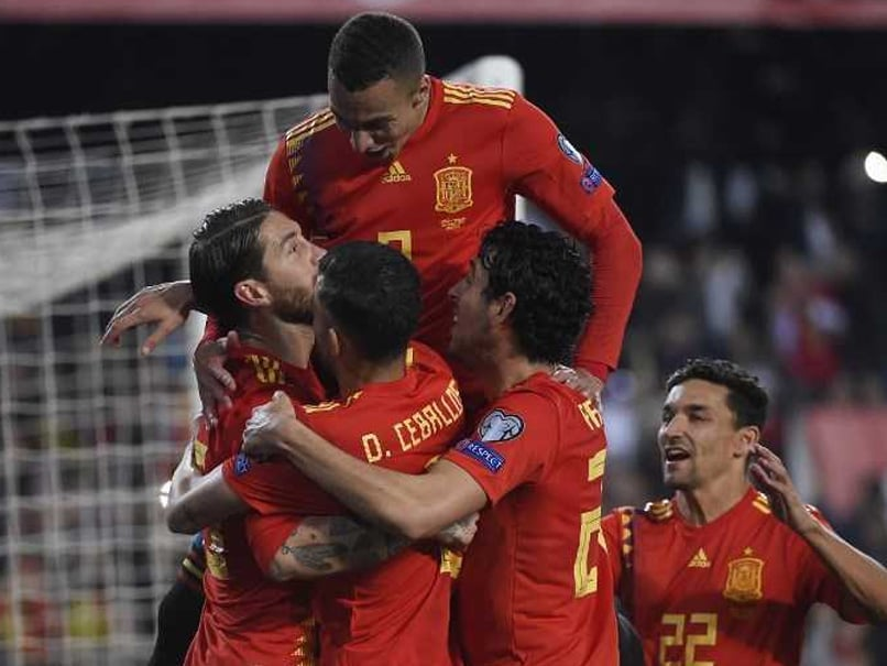 Euro 2020 Qualifiers Sergio Ramos Helps Spain Edge Norway Moise Kean Stars For Italy