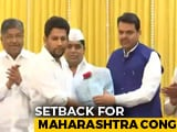 Video : Setback For Congress, Son Of Maharashtra Leader Of Opposition Joins BJP