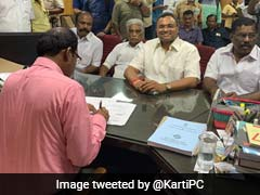 Congress Gives Karti Chidambaram Second Chance From Sivaganga