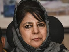 "Mehbooba Mufti Gets Anti-Corruption Notice, Says ""Not Surprised"""