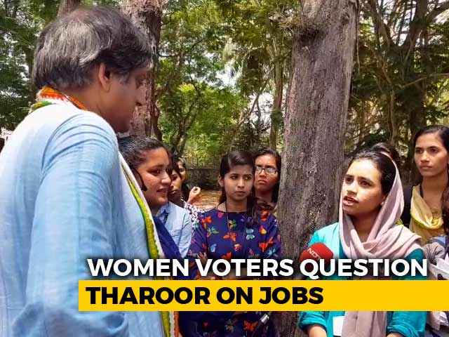 Video : Across Colleges In Kerala, Students Ask Candidates About 'Lack Of Jobs'