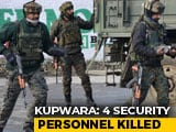 "Video : Forces Lose 4 In Kashmir Encounter; ""Dead"" Terrorist Fired, Say Sources"